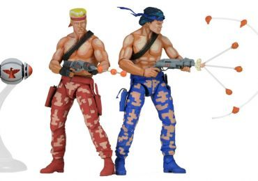NECA Classic Contra action figures, Lance and Bill