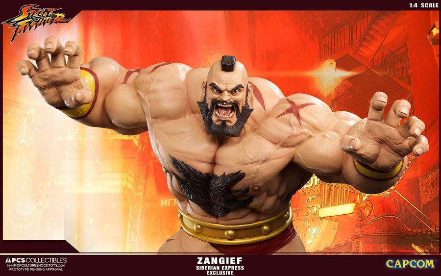 PCS Zangief statue, Exclusive Siberian Express version
