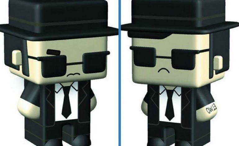 Blues Brothers Pixel Figures