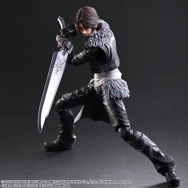 Squall and Sephiroth Figures on the Way From Play Arts Kai