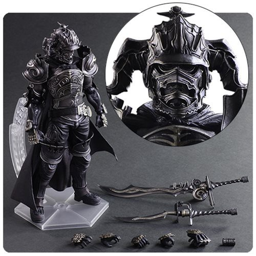 Final Fantast XII Play Arts Kai Gabranth action figure, accessories