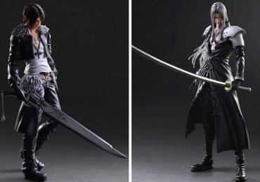 Play Arts Kai Squall Leonheart and Sephiroth action figures
