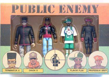 Presspop Public Enemy action figures set