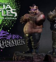 Prime 1 TMNT statues, Rocksteady and Bebop