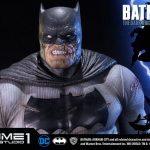 The Dark Knight Batman statue from Prime 1 Studios, damaged portrait