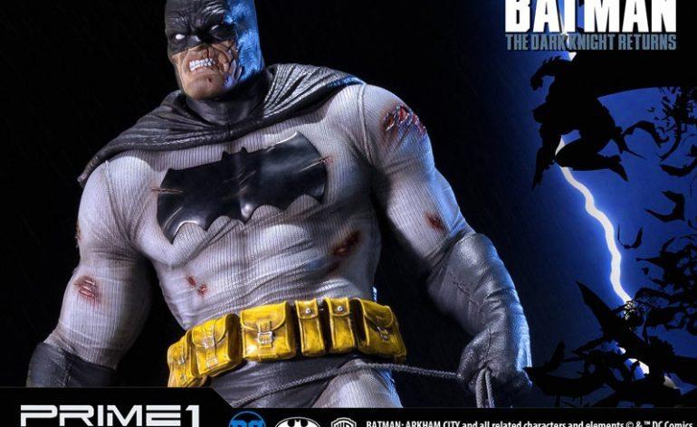 The Dark Knight Batman statue from Prime 1 Studios