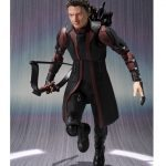 SHFiguarts Hawkeye action figure, running