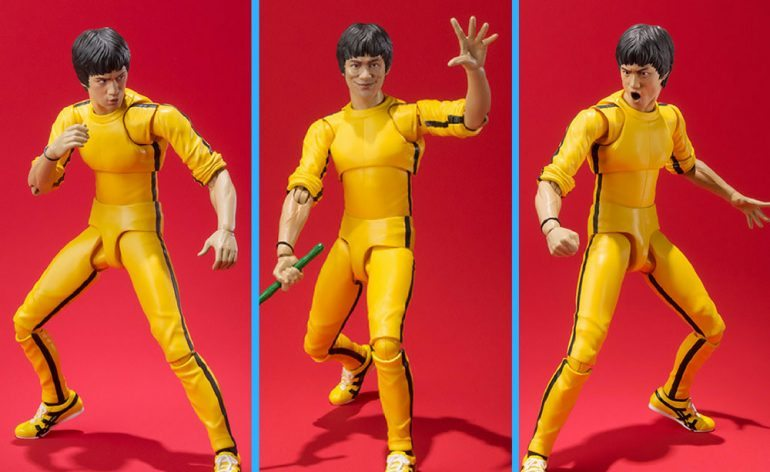 SH Figuarts Yellow Track Suit Game of Death Bruce Lee action figure