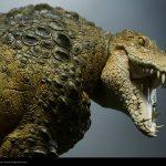 Sideshow Premium Format Killer Croc Figure, alternate head sculpt