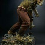 Sideshow Premium Format Killer Croc Figure, side view