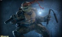 Sideshow Reveals Their New TMNT Michelangelo Statue