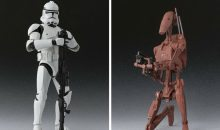 New S.H. Figuarts ROTS Clone Trooper and Geonosis Battle Droid