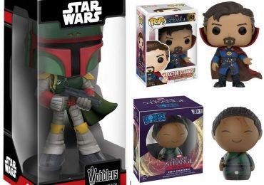 Funko Star Wars and Doctor Strange pop vinyl figures