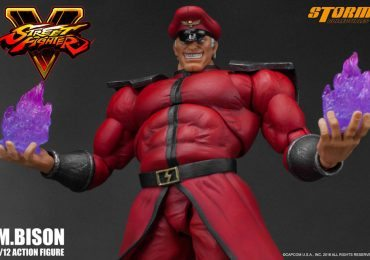 Storm Collectibles M. Bison Action Figure with power effects