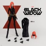 Sixth Scale ThreeA Black Widow Action Figure, accessories