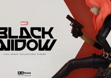 Sixth Scale ThreeA Black Widow Action Figure, banner