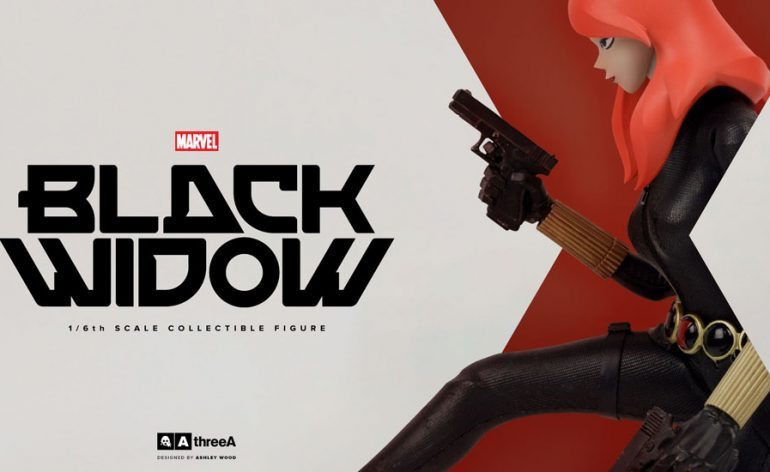 Sixth Scale ThreeA Black Widow Action Figure, banner