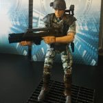 Hiya Toys Aliens Colonial Marines action figures, Hicks posed