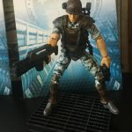 Hiya Toys Aliens Colonial Marines action figures, Hicks loaded with accessories