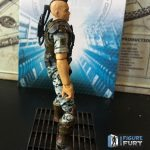 Hiya Toys Aliens Colonial Marines action figures, Quintero side view
