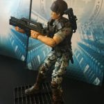 Hiya Toys Aliens Colonial Marines action figures, Hicks loaded out