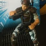 Hiya Toys Aliens Colonial Marines action figures, Quintero front view with guns