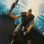 Hiya Toys Aliens Colonial Marines action figures, Quintero top view