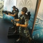 Hiya Toys Aliens Colonial Marines action figures, shot of Hudson, Hicks