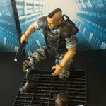 Hiya Toys Aliens Colonial Marines action figures, shot of Quintero