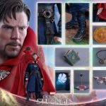 Hot Toys Doctor Strange action figure, accessories