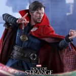 Hot Toys Doctor Strange action figure, using spell hands