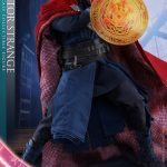 Hot Toys Doctor Strange action figure, posed with spell effects