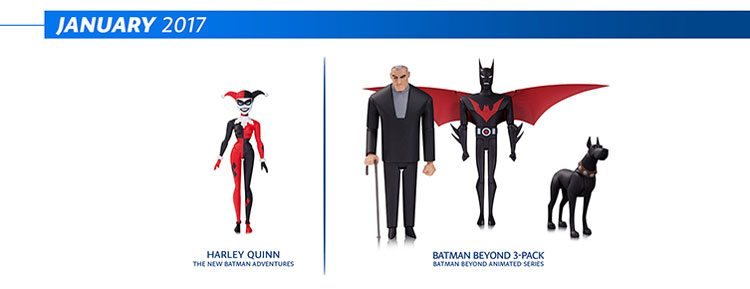 DC Collectibles Batman: Animated Series figures and Batman Adventures Figures for January 2017
