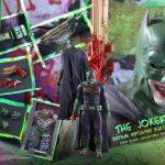 Hot Toys Batman Joker Imposter Action Figure, accessories