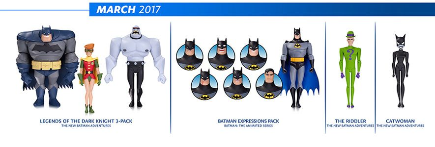 DC Collectibles Batman: Animated Series figures and Batman Adventures Figures for March 2017