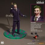 Mezco Toyz One:12 Collective Joker Action Figure, accessories