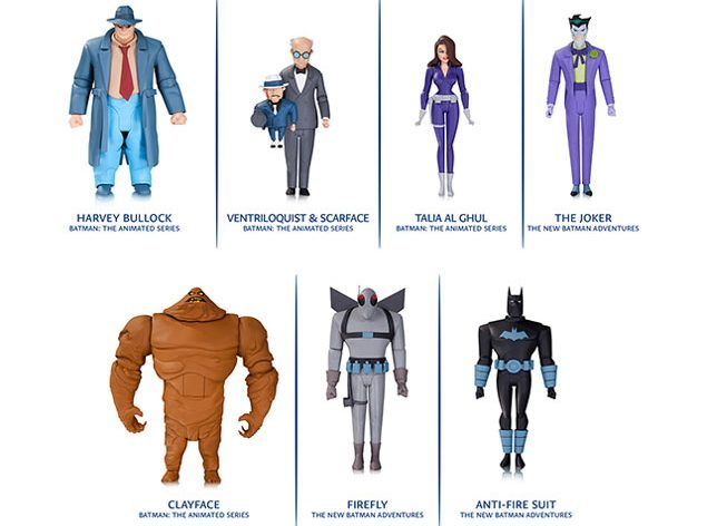 DC Collectibles Batman: Animated Series action figures and Batman Adventures Figures