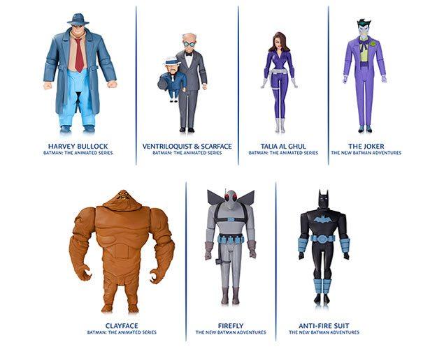 DC Collectibles Batman Animated Series the joker Action Figure New Adventures