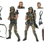 NECA Toys Aliens Action Figures Marines Hicks and Hudson 2 pack, accessories
