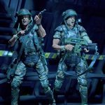NECA Toys Aliens Action Figures Marines Hicks and Hudson 2 pack, action faces