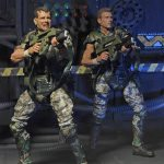 NECA Toys Aliens Action Figures Marines Hicks and Hudson 2 pack, posed