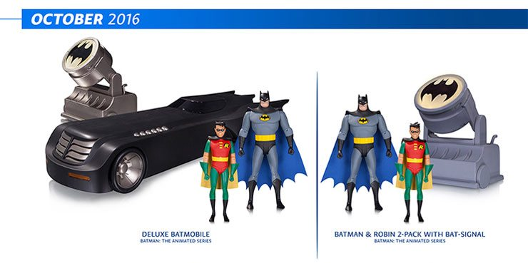 DC Collectibles Batman: Animated Series figures and Batman Adventures Figures for October 2016