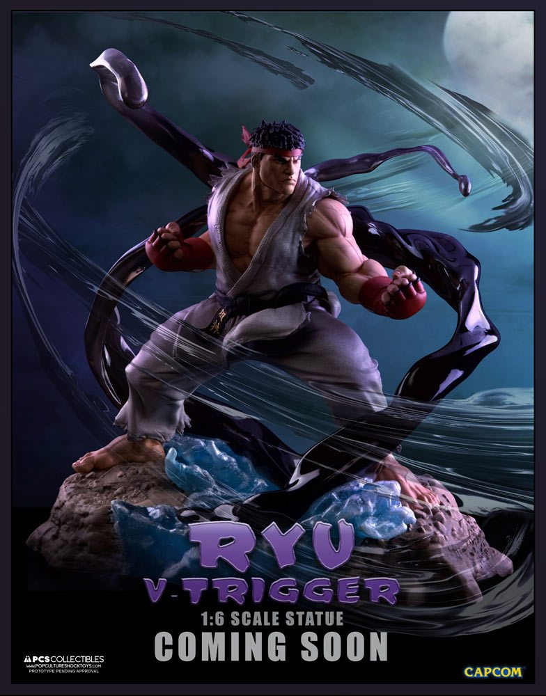 PCS Street Fighter V Sixth Scale Ryu statue preview