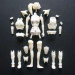 Velara Warriors: Daughters of the Light action figures, parts