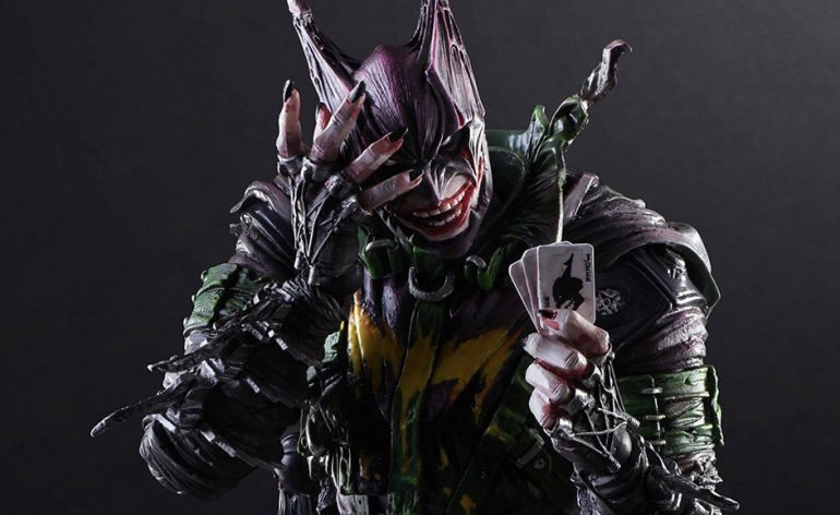 Square Enix Play Arts Kai Rogues Gallery series Batman Joker action figure