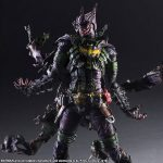 Square Enix Play Arts Kai Rogues Gallery series Batman Joker action figure, posed dramatically