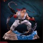 Pop Culture Shock Street Fighter V Ryu Statue, Denjin Renki version