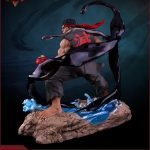 Pop Culture Shock Street Fighter V Ryu Statue, Satsui no Hado version