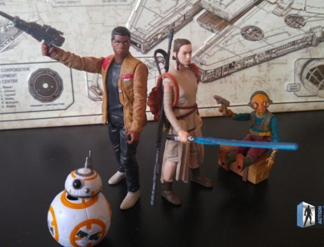 Star Wars: The Force Awakens Takodana Encounter Action Figure Set, Finn, Maz, BB8, Rey