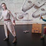Star Wars: The Force Awakens Takodana Encounter Action Figure Set, Maz, Rey